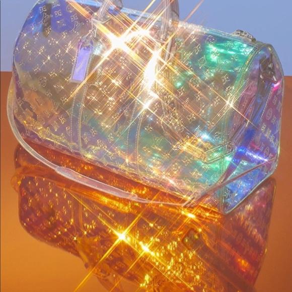 23ed4c4ea8d Louis Vuitton prism Virgil Abloh keepall 50